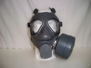 Finnish Army Gas Mask With Filter Original Military Issue Equipment