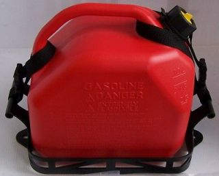 NEW 2.5 GALLON GAS FUEL JERRY CAN WITH STRAPS FOR POLARIS RAZOR RZR