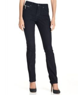 Style&co. Petite Jeans, Skinny Leg Seamed, Rinse Wash