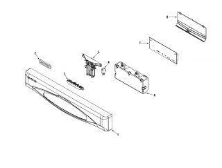 MAYTAG Dishwasher Supplemental information Parts  Model MDBH955AWS