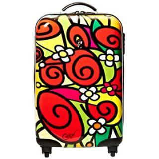 Heys Francisco Ceron Red Roses 26 Spinner Upright Luggage