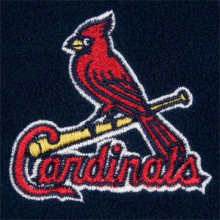 St. Louis Cardinals Youth Navy 1/4 Zip Fleece Frost Jacket