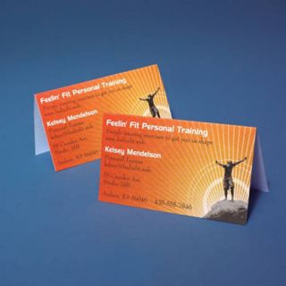 Folded Business Cards  Staples Copy & Print