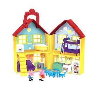 Fisher Price Peppa Pig Peek n Surprise Playhouse Playset