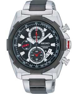 Buy Seiko Mens Two Tone Chronograph Watch at Argos.co.uk   Your