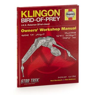ThinkGeek :: Star Trek: Klingon Bird of Prey Haynes Manual