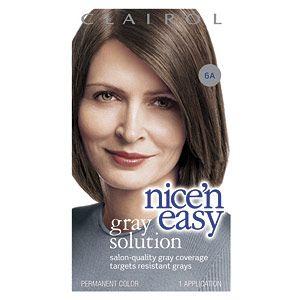 Buy Clairol Nice n Easy Gray Solution Hair Color, Light Ash Brown