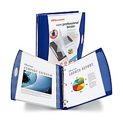Office Depot® Brand View Professional Binder, 1 1/2 Rings, 330 Sheet