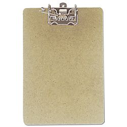 Office Depot Brand Clipboard With Arch Clip 9 x 15 12 Brown by Office