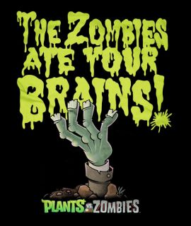 ThinkGeek :: PvZ: The Zombies Ate Your Brains
