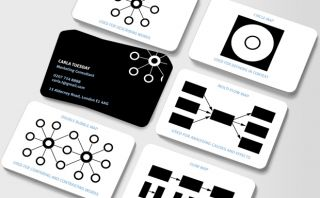 Go with the flow(chart) Business Cards  moo USA