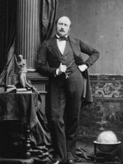 Portrait by Camille Silvy of Prince Albert, Consort of English Queen