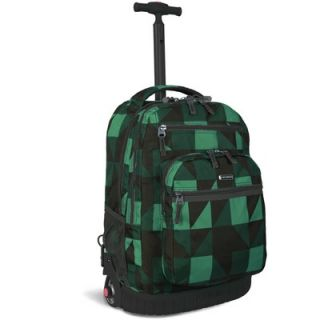 World Sundance Rolling Backpack with Laptop Sleeve