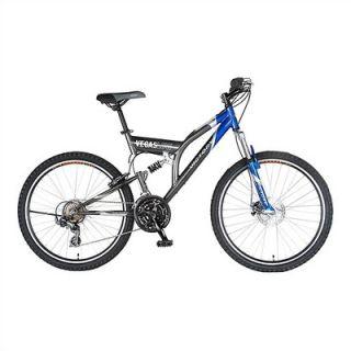 Victory 21 Speed Vegas Low Dual Suspension Mountain Bike   70126   9