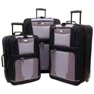 Geoffrey Beene Carnegie 3 Piece Luggage Set