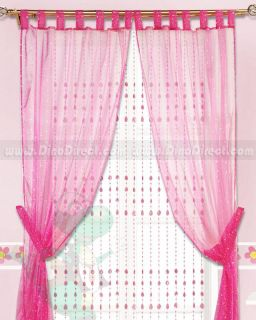 Wholesale Star Applique Tailored Bedroom Window Sheer Curtain