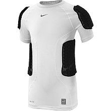 NIKE Boys Pro Combat Hyperstrong Football Shirt