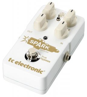 TC Electronic Spark Booster Guitar Effects Pedal | Musicians Friend