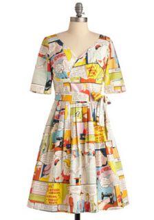 Aubergine Scene Dress  Mod Retro Vintage Dresses  ModCloth