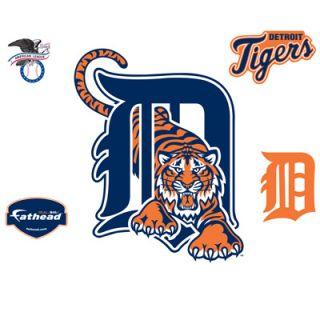 Fathead Detroit Tigers Logo Vinyl Wall Graphic  Meijer