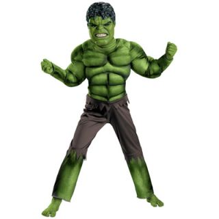 The Avengers Hulk Classic Muscle Chest Toddler Costume   Size 3T 4T
