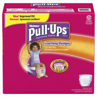 Huggies Pull Ups Potty Training Pants Biggie Pack   Girls  Meijer