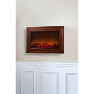 Fire Sense Wood Wall Mounted Electric Fireplace  Meijer