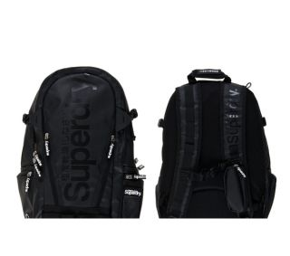 SUPERDRY Classic Laptop Backpack   Black Deals  Pcworld