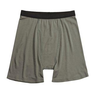 Wickers Wool Blend Boxer Briefs   Underwear (For Men) in Foliage Green