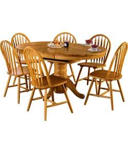 Dining Table Kentucky Natural Extendable Dining Table