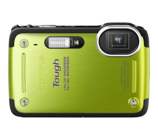 Buy OLYMPUS Tough TG 620 Waterproof Compact Digital Camera   Green
