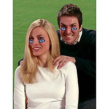 Party Animal Tennessee Titans Team Eye Black Strips  3 Pairs