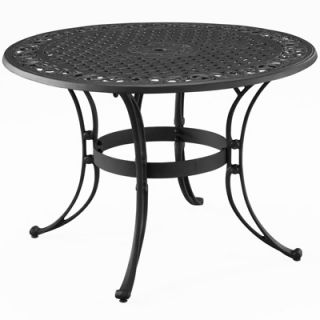 Home Styles Round Outdoor Dining Table   Black  Meijer