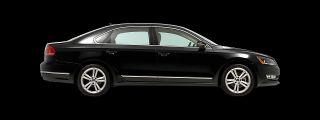Vehicle Shown 2012 Volkswagen Passat TDI SEL Pre )