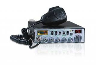 Cobra 40 Channel NightWatch CB Radio with SoundTracker  Watches