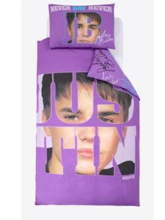 Justin Bieber Autograph Duvet Cover Set Littlewoods