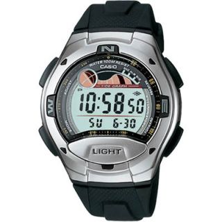 Casio W7531AV Mens Dual Time Digital Watch  Meijer