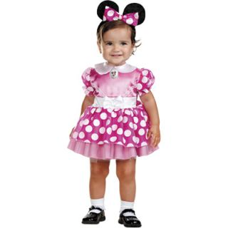 Mickey Mouse Clubhouse Pink Minnie Mouse Infant Costume   Size 12 18