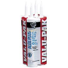 Dap® Alex Plus® Acrylic Latex Plus Silicone Caulk (18136)   6 Pack