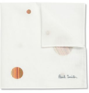 Paul Smith  Printed Cotton Handkerchief  MR PORTER