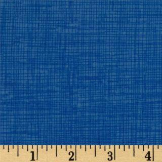 Timeless Treasures Sketch Flannel Delft   Discount Designer Fabric