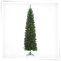 Winchester Pine Pre lit Christmas Tree with Metal Base