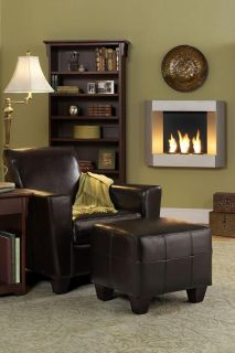 Wall Mount Indoor/Outdoor Fireplace   Ventless Fireplaces   Living