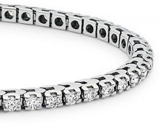 Diamond Tennis Bracelet in 14k White Gold (2 ct. tw.)  Blue Nile