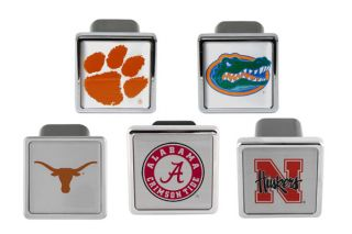 College Logo Hitch Covers   Texas, Georgia, LSU, Michigan, Ohio State