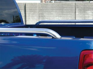 Go Industries Truck Bed Rails Black bed rails deliver a bold look