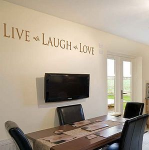 Live Laugh Love Wall Art Sticker / Decal   painting & decorating