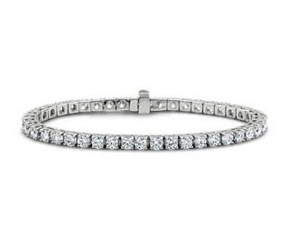 Diamond Tennis Bracelet in 14k White Gold (7 ct. tw.)  Blue Nile