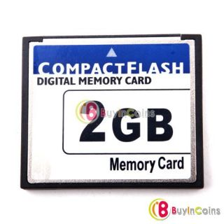High Speed 2GB Compact Flash CF Memory Card 2G 2 GB   BuyinCoins