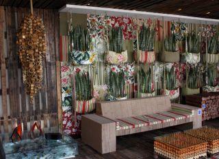 Um jardim vertical cheio de estilo na Casa Cor (Foto Bruno Gonzalez)